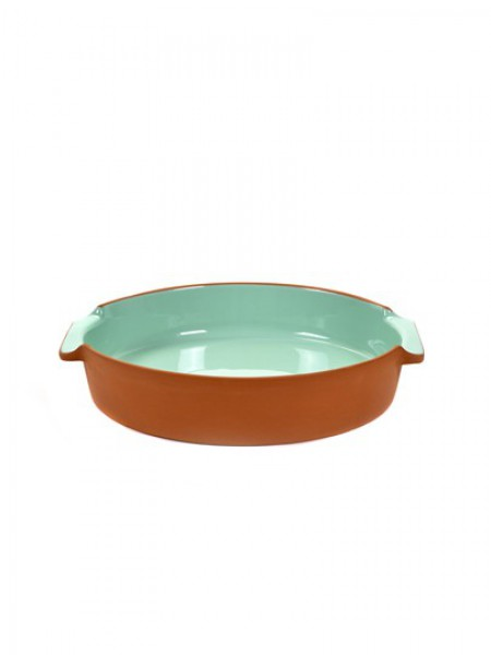 Serax - Jansen+co - Bakeware - Round - Large - Mint - JC1353