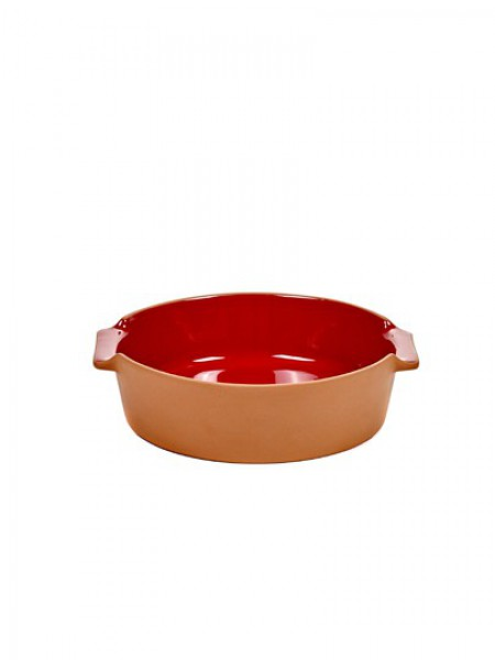 Serax - Jansen+co - Bakeware - Round - Small - Red - JC1337