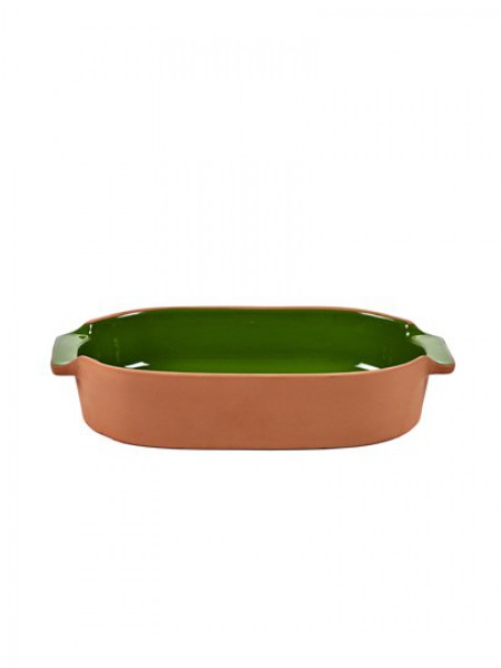 Serax - Jansen+co - Bakeware - Oval - Small - Green - JC1342