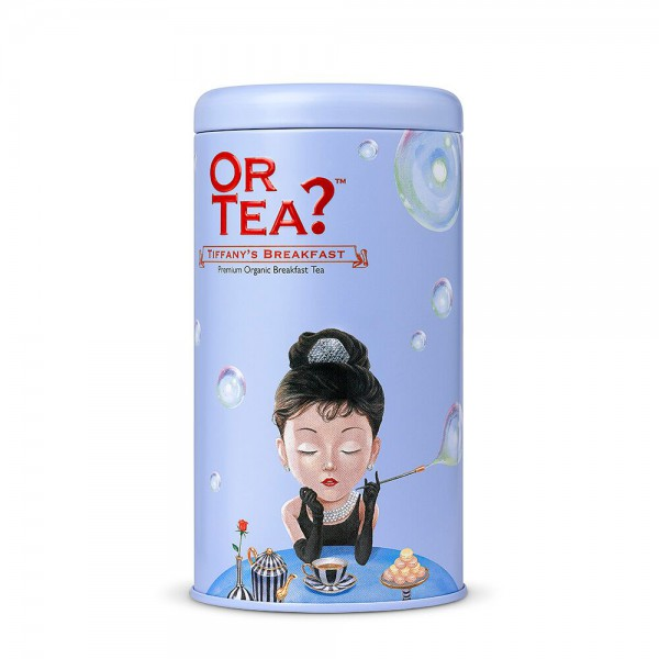 Or Tea? - Tin Canister - Tiffany's Breakfast - BIO