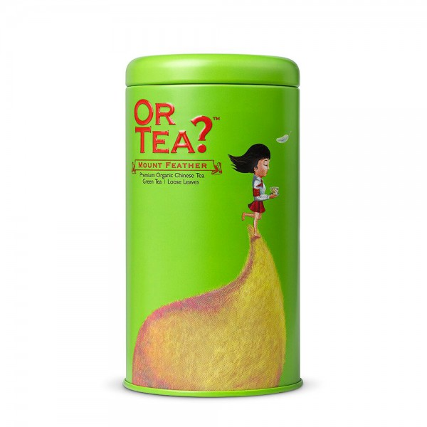 Or Tea? - Tin Canister - Mount Feather - BIO