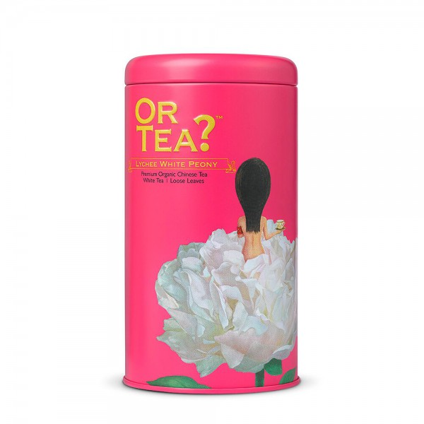 Or Tea? - Tin Canister - Lychee White Peony - BIO
