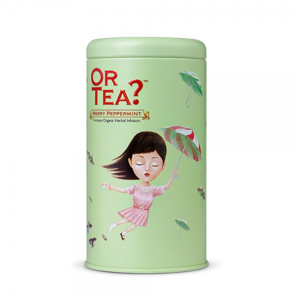Or Tea? - Tin Canister - Merry Peppermint