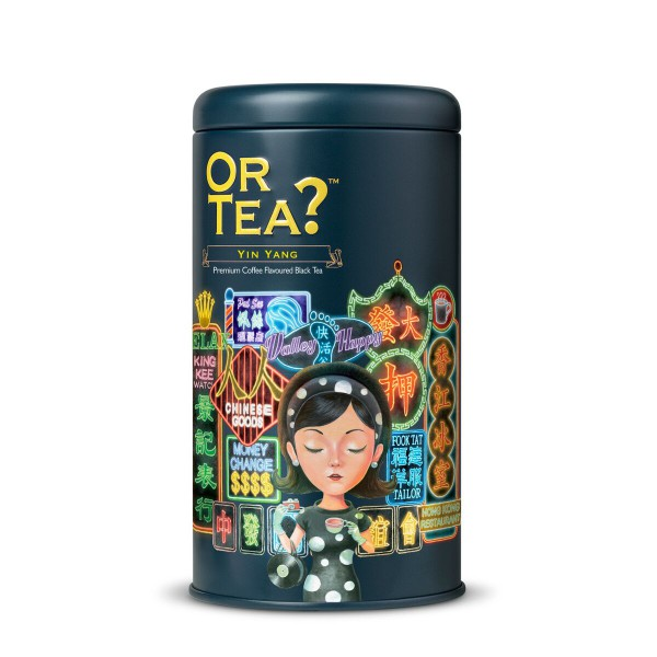Or Tea? - Tin Canister - Yin Yang