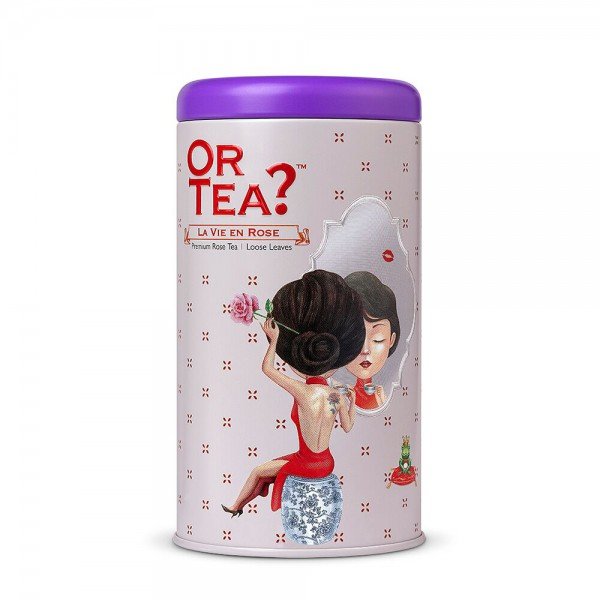 Or Tea? - Tin Canister - La Vie en Rose