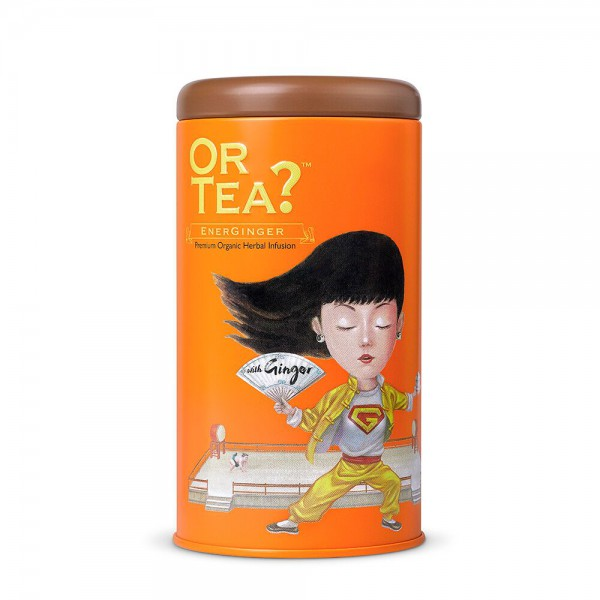Or Tea? - Tin Canister - EnerGinger - BIO